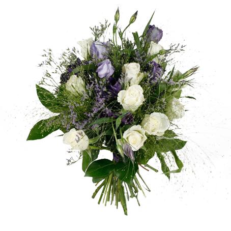 skicka blommor lund